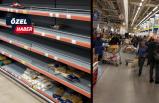 Koronavirüs telaşı: Marketlere akın ettiler