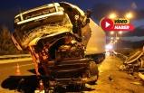 İzmir'de tır kazası: 1 ölü, 1 yaralı
