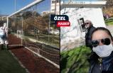 İzmir'in tek kadın başkanı coronaya karşı kolları sıvadı