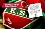 Karşıyaka Spor Kulübü paylaştı: Durduruldu!