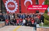 Kemalpaşa'da toplu iş sözleşmesi sevinci