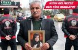 Kızı dağa kaçırılan baba, evlat nöbetini İzmir'de sürdürüyor
