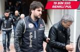 """""""Sahte madeni avro"""" operasyonunda gözaltına alınan 6 zanlı adliyede"""