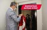 Başkan Arda'dan bayrak sürprizi