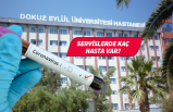 Dokuz Eylül Üniversitesi'nde kaç vaka tespit edildi?