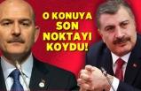 Fahrettin Koca ve Süleyman Soylu arasında tartışma yaşandı mı?