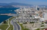 İzmir'in tarihi çarşısı Kemeraltı'nda Kovid-19 sessizliği