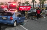 Karşıyaka'da iki otomobil çarpıştı: 1 ölü, 2 yaralı