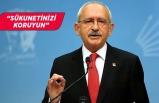 Kılıçdaroğlu, sokağa çıkma yasağıyla ilgili vatandaşa seslendi