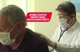 Kovid-19'u yenen profesör hastalarına koştu