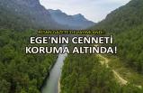 Resmi Gazete'de yayımlandı: Ege'nin cenneti koruma altında!