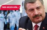 Sağlık Bakanı Koca, konuşmakta zorlandı: 601 sağlık çalışanımız...