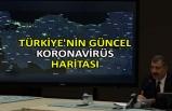 Türkiye'nin güncel koronavirüs haritası
