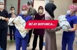 5 aylık bebek koronavirüsü yendi!