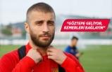 Alpaslan Öztürk: Göztepe'de tarih yazmak istiyorum