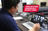 Başkan Kılıç'tan üniversiteli gençlerle online 19 Mayıs zirvesi