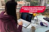 Bayraklı'da öğretmenlere 'online ders' eğitimi