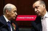 Erdoğan'dan flaş MHP ve Bahçeli açıklaması