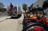 Kovid-19 önlemleri, sokakları bisikletlerle doldurdu