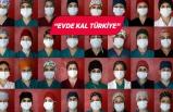 """""""Kovid savaşçıları""""nın rengarenk boneleri hastalara moral veriyor"""