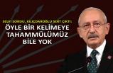 Selvi sordu, Kılıçdaroğlu sert çıktı: Öyle bir kelimeye tahammülümüz bile yok
