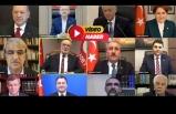 Siyasi liderleri buluşturan klip
