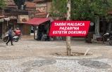 Tarihi Malgaca Pazarı'na estetik dokunuş