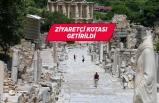 Efes Antik Kenti'ne Kovid-19 nedeniyle ziyaretçi kotası