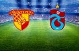 Göztepe-Trabzonspor maçı başladı