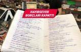 İzmir'de bir hayırsever 60 bin liralık borcu kapattı
