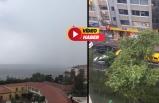 İzmir'de şiddetli yağmur!