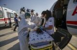 Türkmenistan'da yaşayan çocuk hasta ambulans uçakla Türkiye'ye getirildi