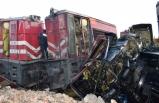 Yük trenleri çarpıştı: 1 ölü, 3 yaralı!