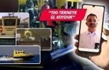 """Bakan Pakdemirli'den Ege Denizi'nde """"online denetim"""""""