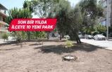 Bayraklı'ya 2 park 2 yeşil alan daha
