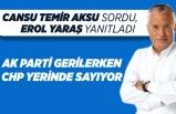 Erol YARAŞ: AK Parti gerilerken, CHP yerinde sayıyor