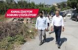 """Gaziemir'de """"Dere""""ye akan kanalizasyon sorunu çözülüyor!"""