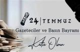 İzmir'in Başkanlarından 24 Temmuz Gazetecilik ve Basın Bayramı mesajları