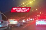 İzmir-Çeşme yolunda bayram trafiği başladı