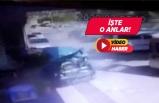 İzmir'de kaza! Defalarca takla atarak 8 araca çarptı!