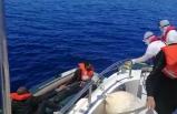 Muğla'da Türk kara sularına itilen 5 sığınmacı kurtarıldı