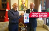 Rotary Federasyonu Başkanı'ndan Tunç Soyer'e ziyaret