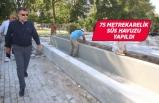 Bayraklı'ya yeni havuzlu park