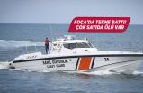 Foça'da tekne faciası
