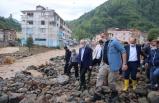 İçişleri Bakanı Soylu, Giresun'da sel bölgesinde incelemelerde bulundu