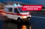 İzmir'de düğün konvoyunda maganda dehşeti!