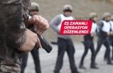 """İzmir'de uyuşturucu satıcılarına yönelik """"şafak"""" operasyonu"""