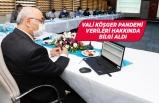 İzmir Valisi Köşger, Pandemi verileri hakkında bilgi aldı