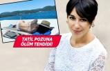 Gazeteci Melis Alphan'a ölüm tehdidi!