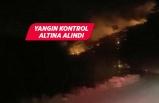 Menderes'te orman yangını kontrol altına alındı